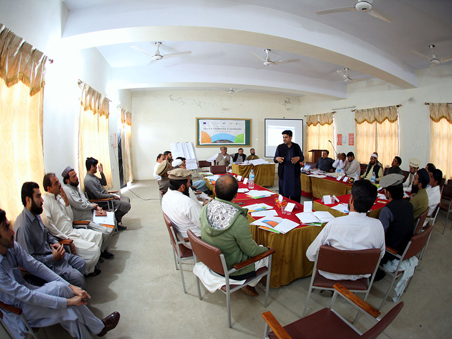 Capacity Building workshops of LAs
