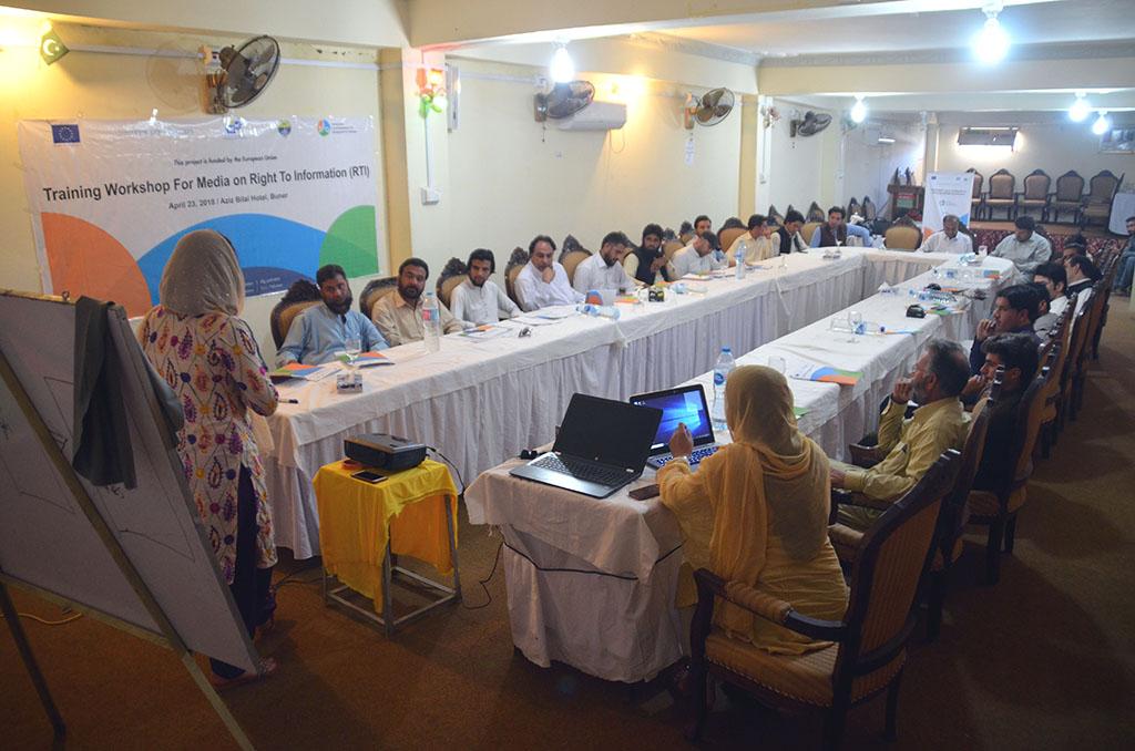 Training Workshops For Media On RTI (2018)