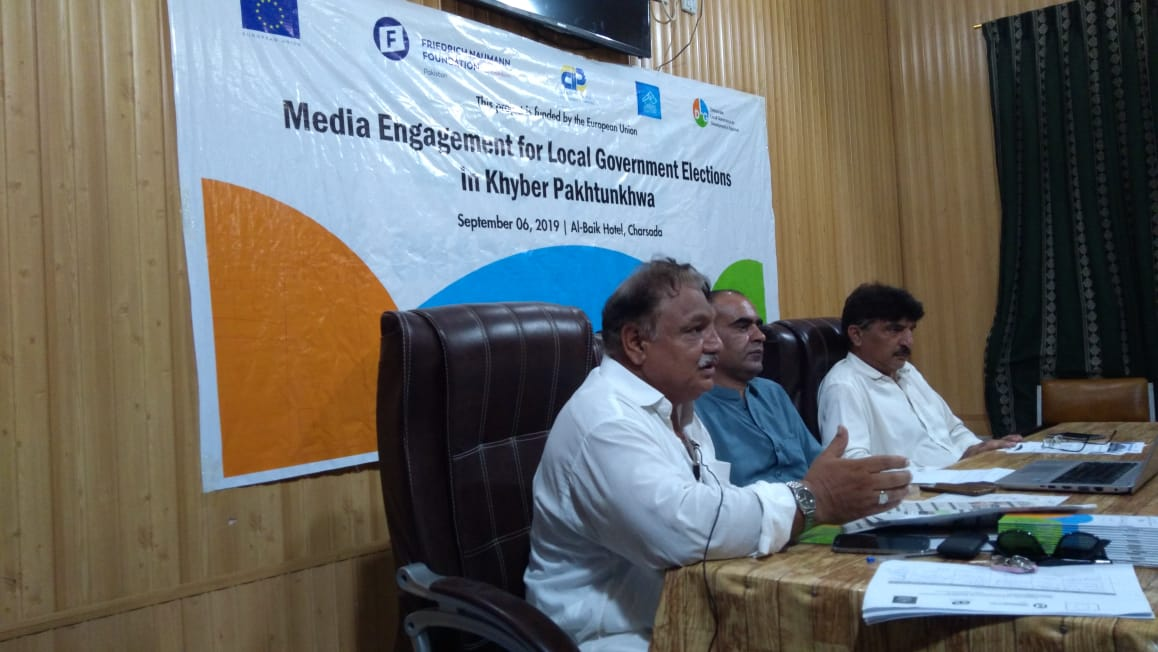 Media Engagement for Local Government Elections in Khyber Pakhtunkhwa