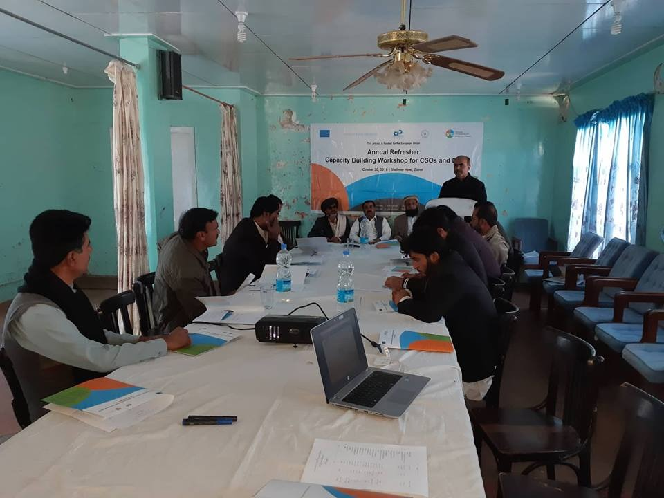 Annual Refresher Capacity Building Workshops of CSOs and DIGs