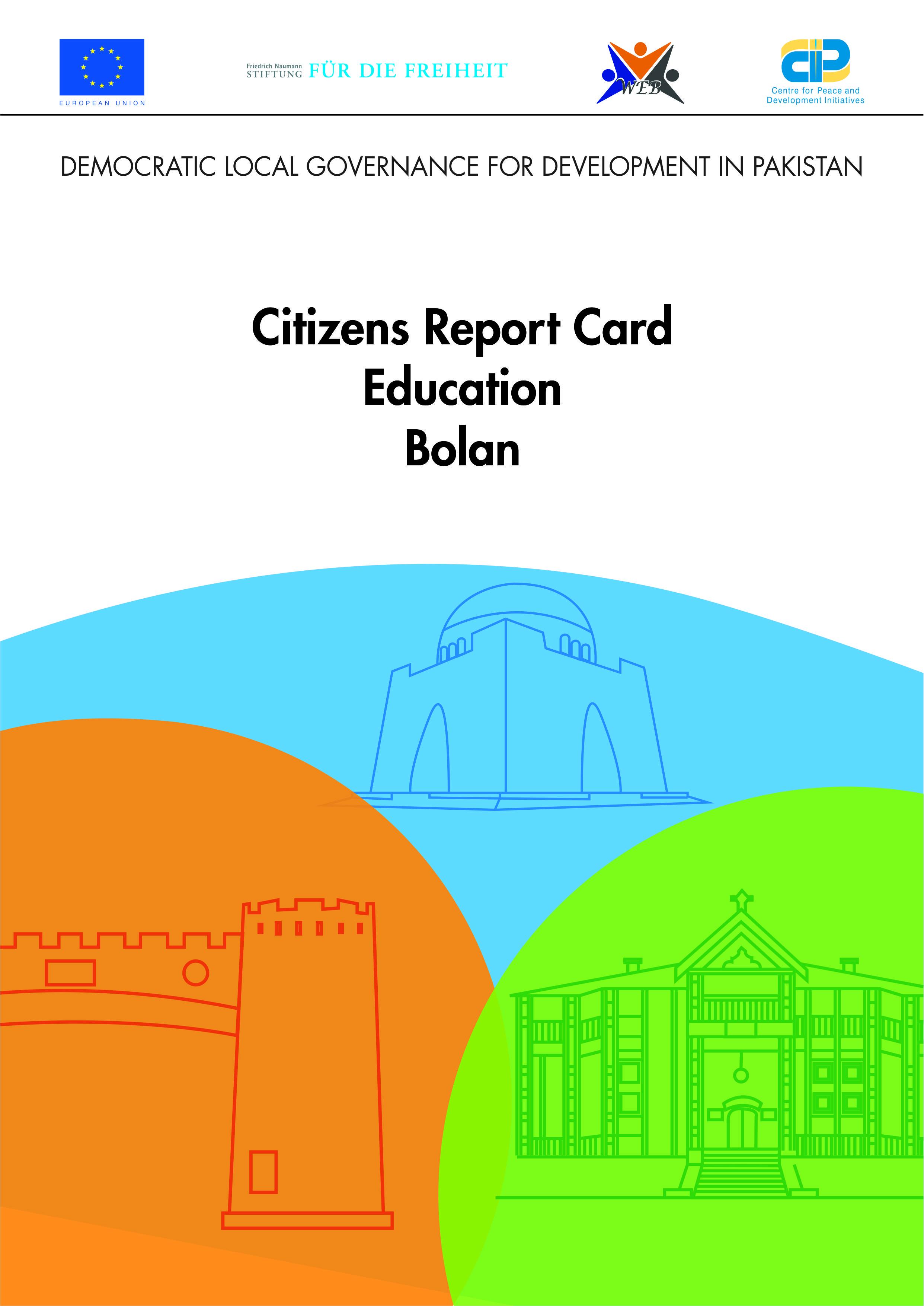 Citizen Report Card Bolan 2017-18